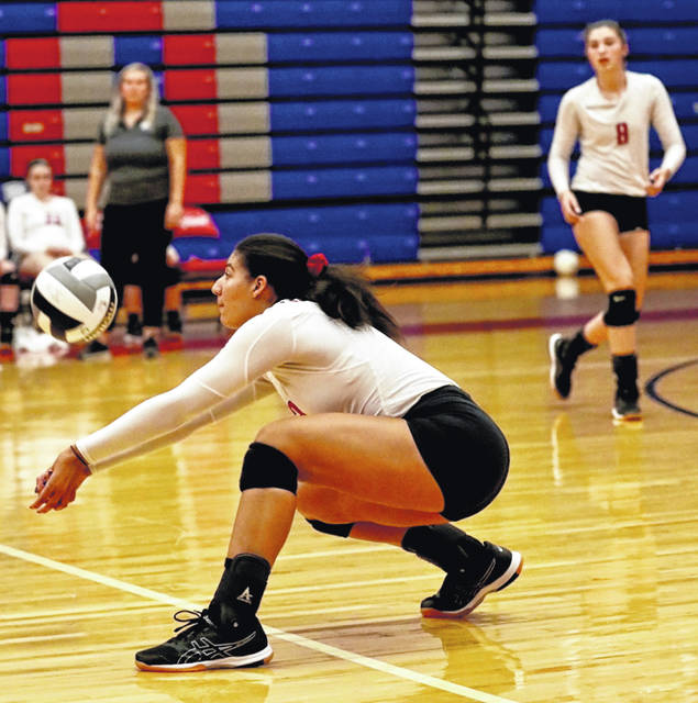 The Portsmouth Lady Trojans were victorious in their match Thursday night against the Ironton Tigers.