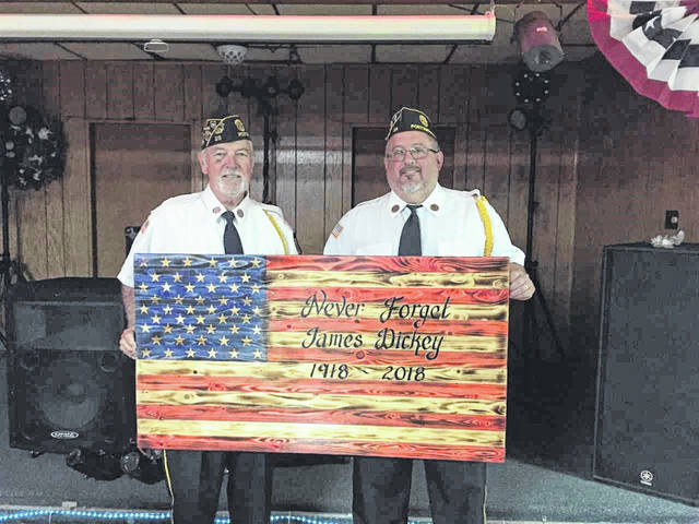 Legion honors Dickey on 100 year anniversary of death