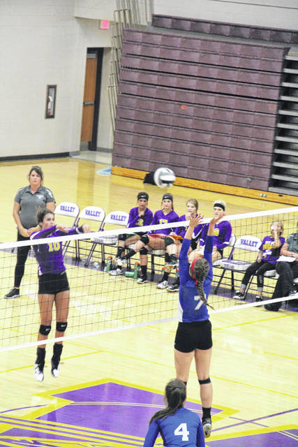 The Northwest Mohawks stole a road victory against the Valley Indians in a highly competitive five set match Thursday night in Lucasville.