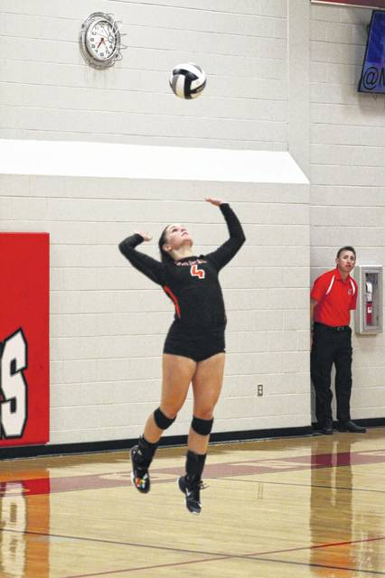Wheelersburg High School senior Abbie Kallner broke the record for career assists at Wheelersburg with her 1705th assist against the Minford Falcons Tuesday night.