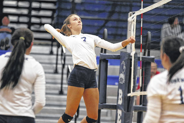 Bears' Macie Rhoads led Shawnee State University in kills and digs with 10 and 15 respectively in their win over KCU Tuesday night.