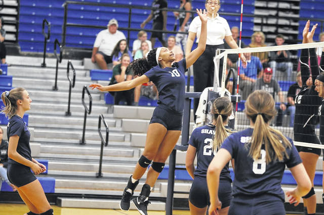 Shawnee State University's volleyball team defeated the Rio Grande Red Storm in straight sets in Portsmouth Thursday night.