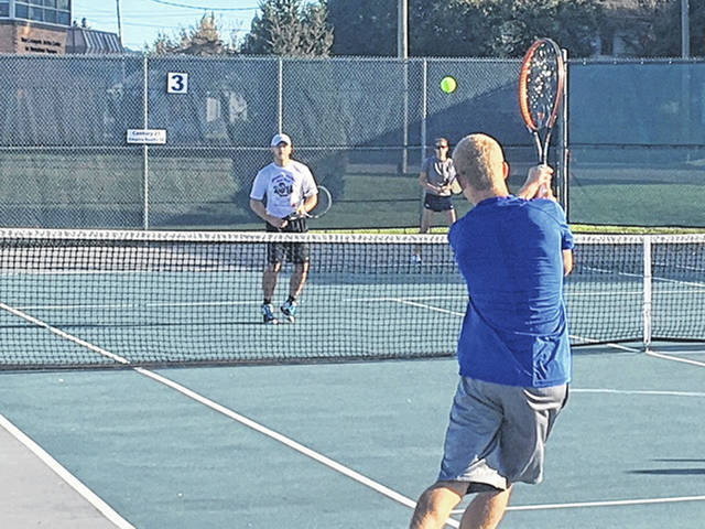 The Steven A. Hunter Memorial Tennis Tournament was held Saturday to benefit Steven's Powerpack.