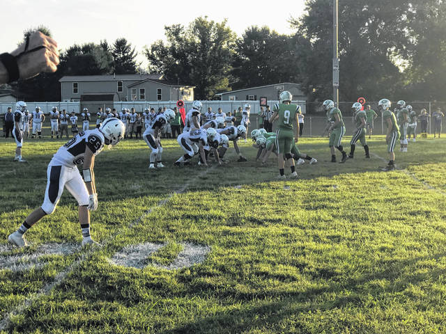 The Green Bobcats defeated the East Tartans 16-8 in both teams opening game of SOC play.
