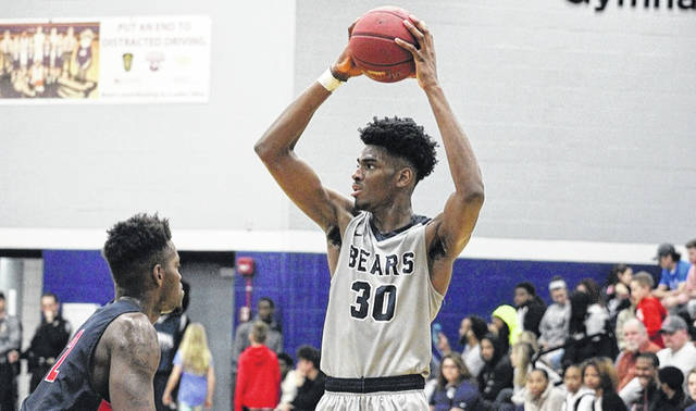 Returning Shawnee State mens' player EJ Onu averaged 3.4 blocks per game during his freshman year as a Bear.
