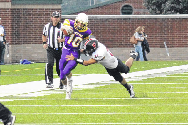 Valley wide receiver Tanner Spradlin hopes to have a big game against a staunch Pirates defense.