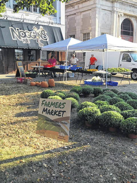 The Farmer's Market is held at the Roy Rogers Esplanade.