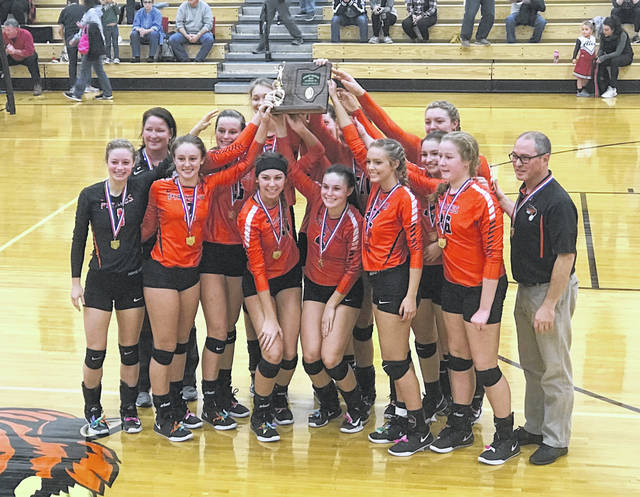 Wheelersburg rallied from a 2-0 set deficit to defeat Alexander 3-2 to win the district championship and improve to 26-0 on the season.