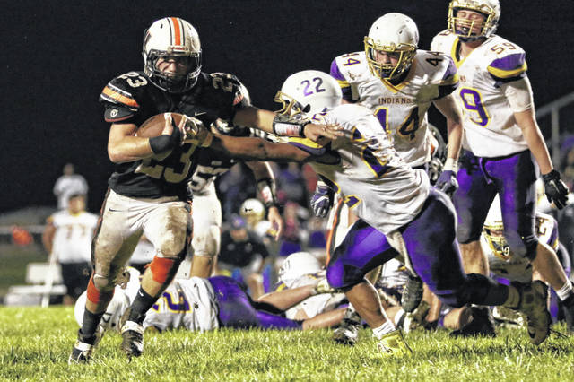 Portsmouth West running back Garrett Hurd will carry the offensive workload on the ground for the Senators this Friday night against Waverly.