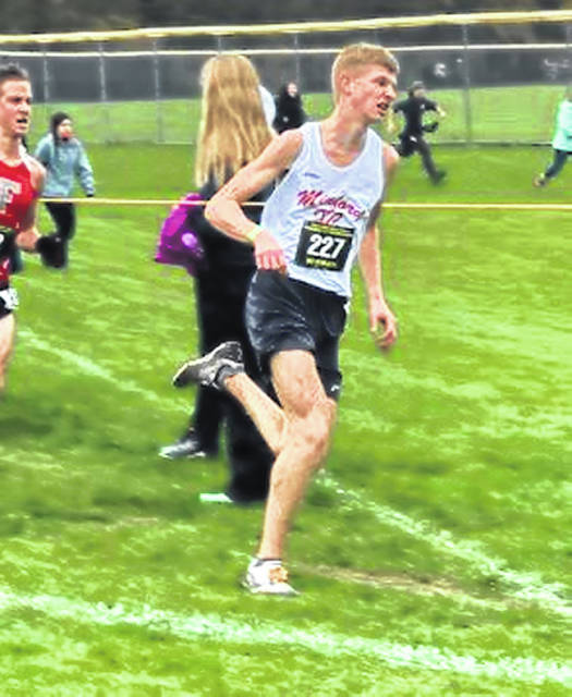 Minford senior Mathew Harris is the first cross country runner from Minford to qualify for state competition in twenty years.