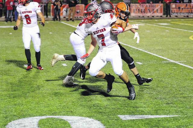 Minford falls to 6-2 following their loss to Wheelersburg Friday night at Ed Miller Stadium.