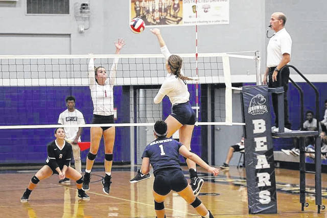 The Shawnee State University volleyball team fell to Georgetown on Tuesday night in three sets.