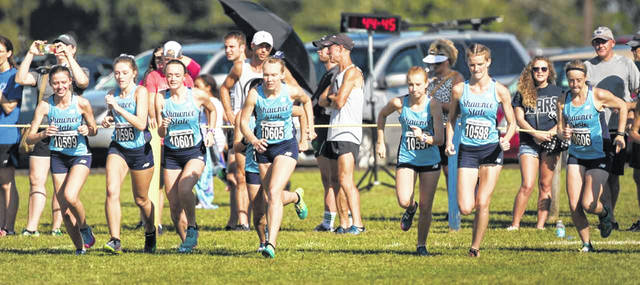 The SSU women's XC team finished seventh at the Jenna Strong Fall Classic on Saturday, while the men's team finished second.