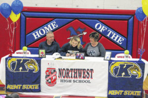 NW's Rice signs with Kent State