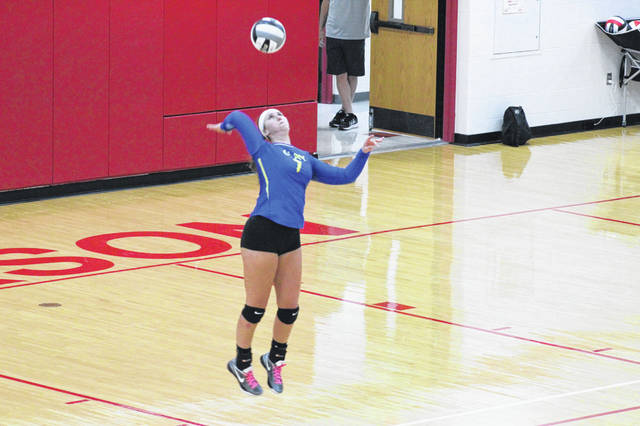 Clay senior hitter Jensen Warnock was named to the OHSVCA All-Ohio second team three days prior to the Lady Panthers state semifinal match vs. Tiffin Calvert.