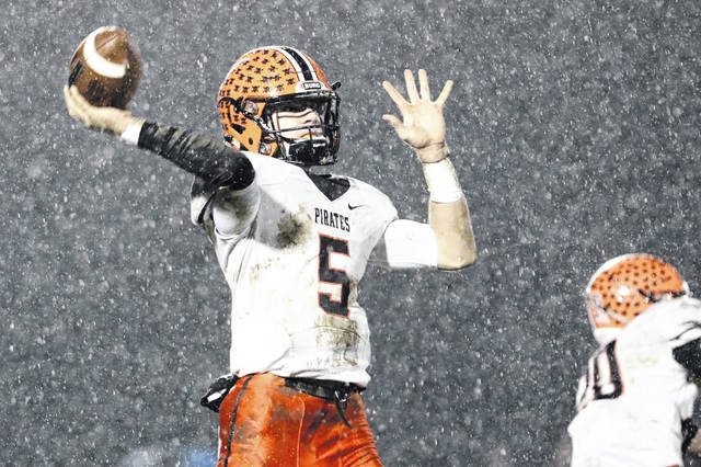 Wheelersburg quarterback Trent Salyers was named first team All-Ohio at the quarterback position for the second consectutive season.