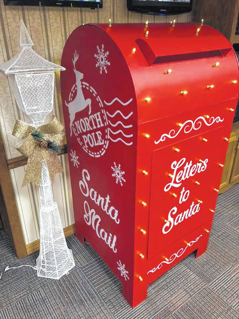 The letters to Santa mailbox can be found at the Scioto County Courthouse