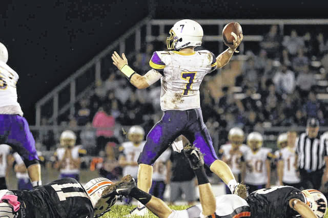 Valley quarterback Andrew Shope was named to the first team All-SOC II offensive team.