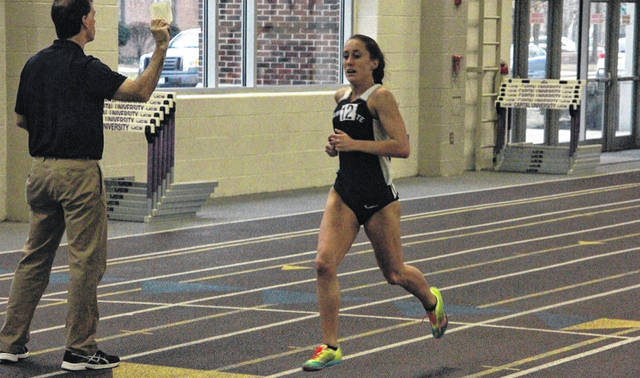 Shawnee State University's Brooke Smith (Wheelersburg) qualified for the NAIA Nationals in March, along with SSU's Seth Farmer.