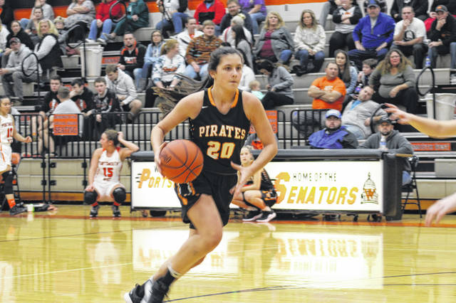 Pirates freshman Alaina Keeney had seven points in Wheelersburg's 56-32 road win over Portsmouth West.