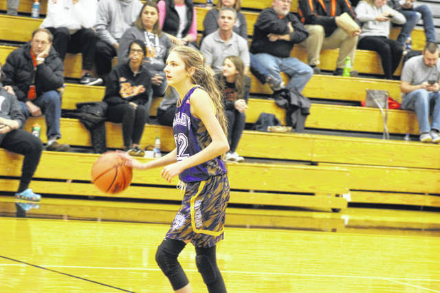 Valley was led in scoring by Karsyn Conaway Monday night against Wheelersburg.