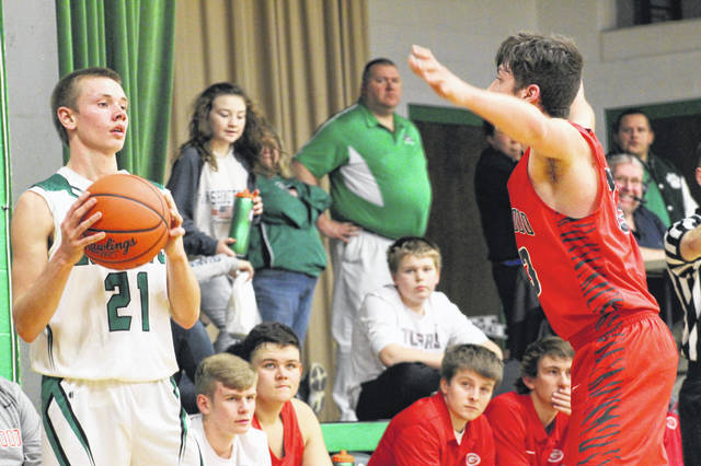 New Boston outscored Green 50-26 in the second and third quarters of their SOC road trip to Franklin Furnace Tuesday night.