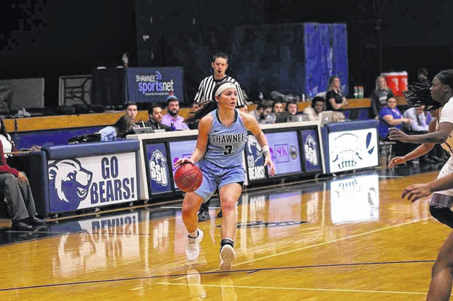 Shawnee State University senior Ashton Lovely was named Mid-South Conference player of the week for the second time in the 2018-19 season for her performances in two Bears wins.