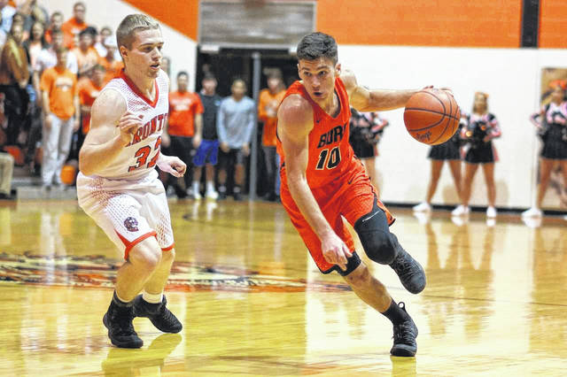 Wheelersburg senior Trent Salyers finished with eight points in the Pirates road win at Ironton Saturday night.