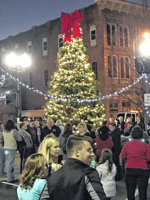 The Winterfest tree was lit up to resounding applause Dec. 2.