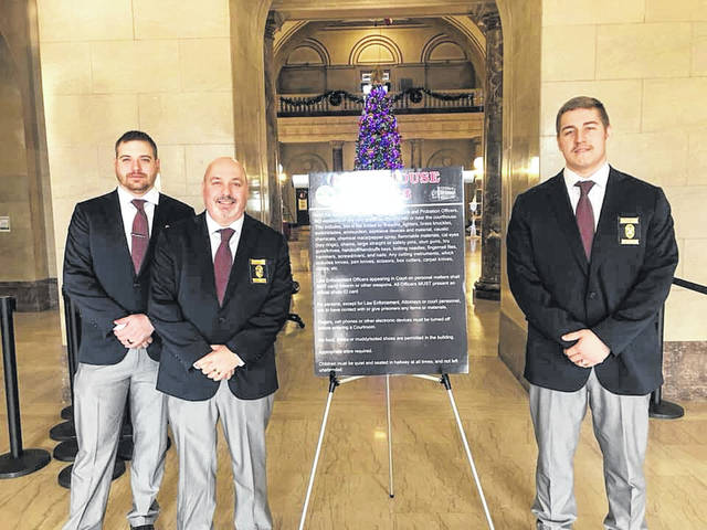 Courthouse security team Courtesy photo