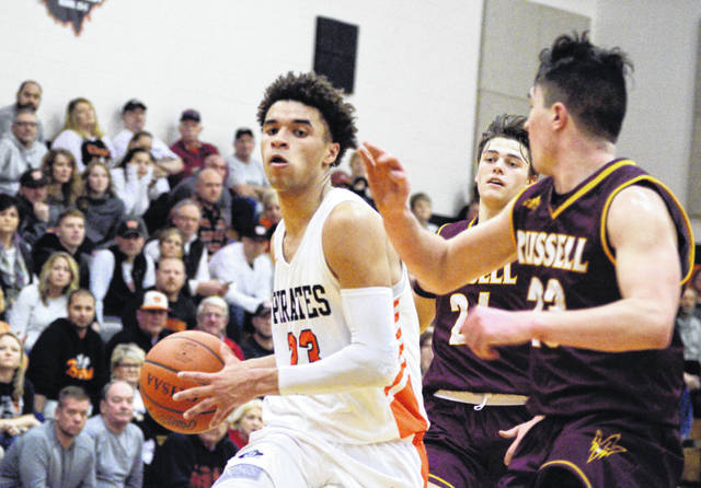 Wheelersburg's Tanner Holden scored 50 points in the Pirates' 83-64 win over Russell (Ky.) Tuesday.