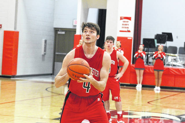 Shiloah Blevins played in his first game since December 7th against Waverly after being sidelined with an injury.