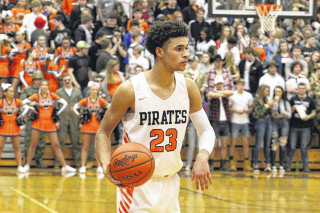 Tanner Holden's 17 second half points helped lead Wheelersburg to a 47-37 home win over Oak Hill Friday night.