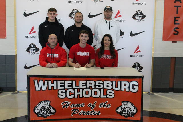Wheelersburg senior Athan Temponeras signed his letter of intent Friday afternoon to play soccer at Wittenberg University beginning this fall.
