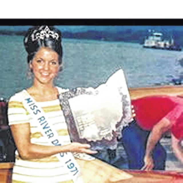 Rhonda Rose, South Webster, Miss River Days 1971, when there were still boat races