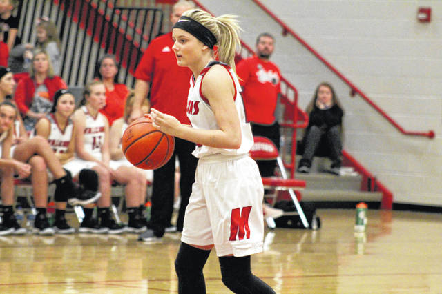 Minford's Livi Shonkwiler scored a team-high 12 points in Saturday's 51-44 loss to Washington.