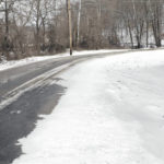 Winter weather hits area