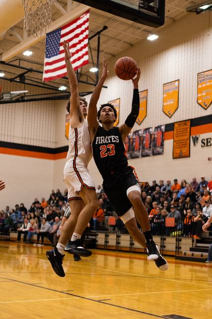 File Photo The Wheelersburg Pirates held serve as the state's second best team in Divison III in the latest AP poll released Monday afternoon