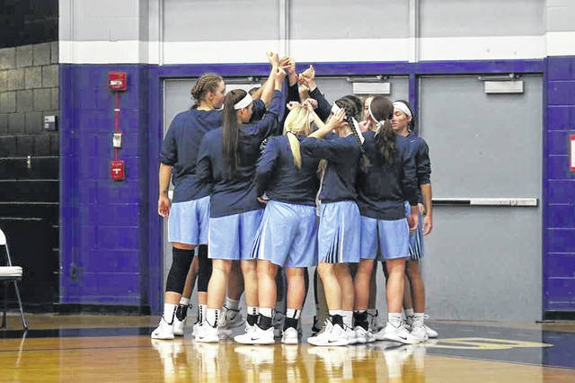 The Shawnee State University women's basketball team was ranked eighth in the most recent top 25 poll for NAIA Division I.