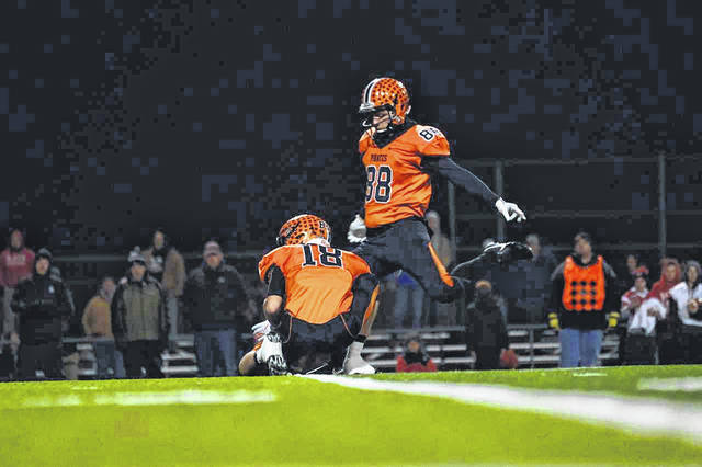 Wheelersburg senior Jalen Miller is one of three players from the SOC to be selected for the 2019 North-South Ohio all star game