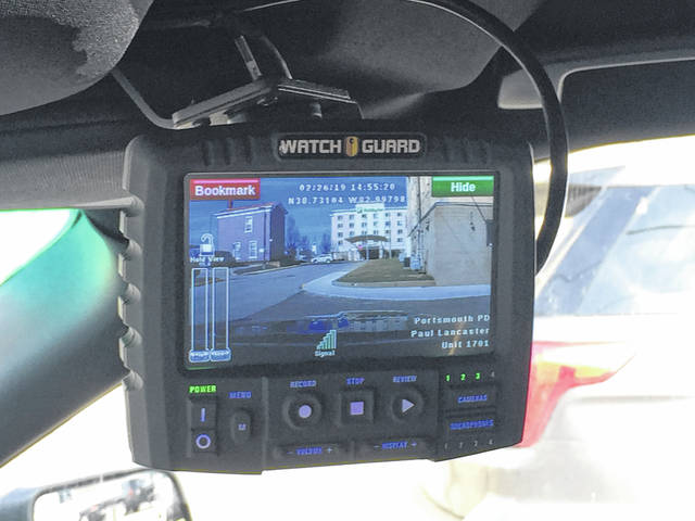 The police in-car cams can get a wide angle view of what is taking place during a traffic stop or investigation.