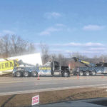Driver escapes injury in truck crash