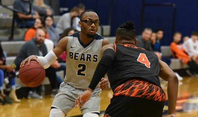 Tamal Watkins finished with 10 points in Shawnee State's loss to Georgetown Saturday afternoon.