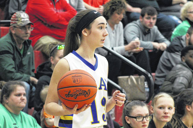 Clay senior Sophia Balestra finished with a game high 19 points in the Panthers sectional final win over Western.