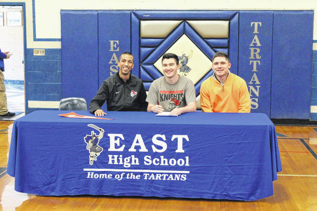 East senior Will Shope signed his letter of intent with Kentucky Christian University at a signing ceremony at East High School.