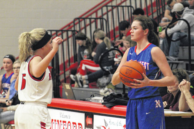 Northwest sophomore Haidyn Wamsley will be a big factor in the Mohawks sectional semifinal contest with Ironton Wednesday evening.