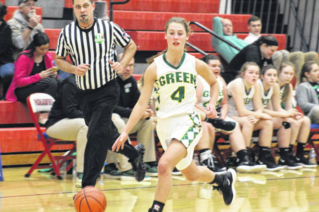 Green freshman Kasey Kimbler scored a game high 22 points in the Bobcats win over East Wednesday night.