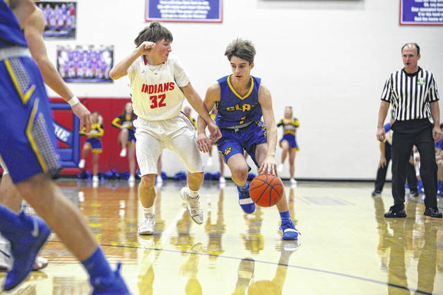The Clay Panthers fell in the sectional finals to the Peebles Indians Wednesday night, 44-39.