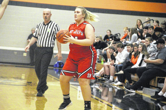 South Webster senior Maddie Cook will be a big factor in the Jeeps Monday sectional vs. Piketon.