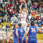 Blevins scores 1,000th in Jeeps home win over Northwest